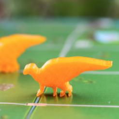 Free 3d print files Dinosaur Island - Hadrosaurus, Robh