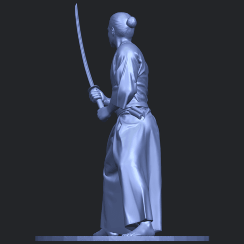 05_TDA0544_Japanese_WarriorB04.png Download free STL file Japanese Warrior • 3D printer model, GeorgesNikkei