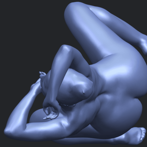 18_TDA0280_Naked_Girl_A07B07.png Download free STL file Naked Girl A07 • 3D printable template, GeorgesNikkei