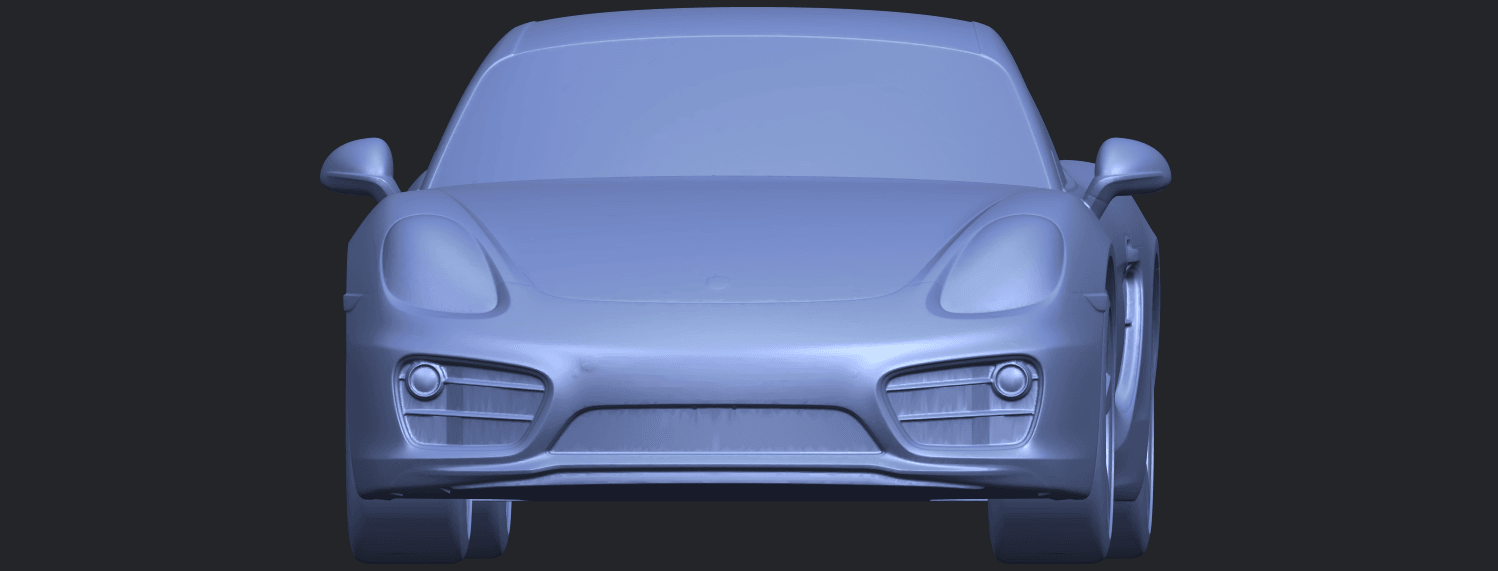 16_TDA0304_Porche_01_Length438mmB09.png Download free STL file Porche 01 • 3D printable object, GeorgesNikkei