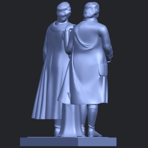15_Goethe_schiller_80mmB08.png Télécharger fichier STL gratuit Goethe Schiller • Modèle imprimable en 3D, GeorgesNikkei