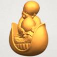 A02.png Télécharger fichier STL gratuit Petit Moine 03 • Modèle pour imprimante 3D, GeorgesNikkei