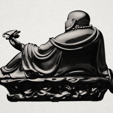 Metteyya Buddha 06 - B03.png Download free STL file Metteyya Buddha 06 • 3D print model, GeorgesNikkei