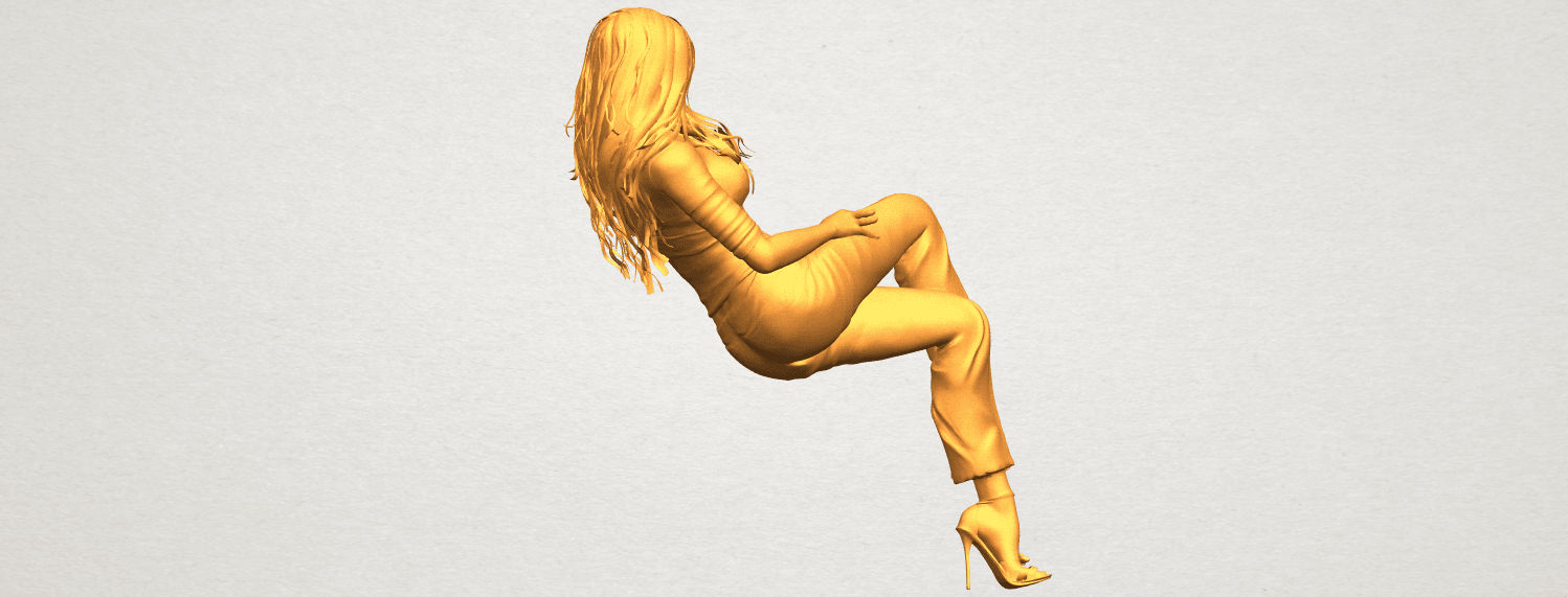 A08.png Download free STL file Naked Girl I05 • Object to 3D print, GeorgesNikkei