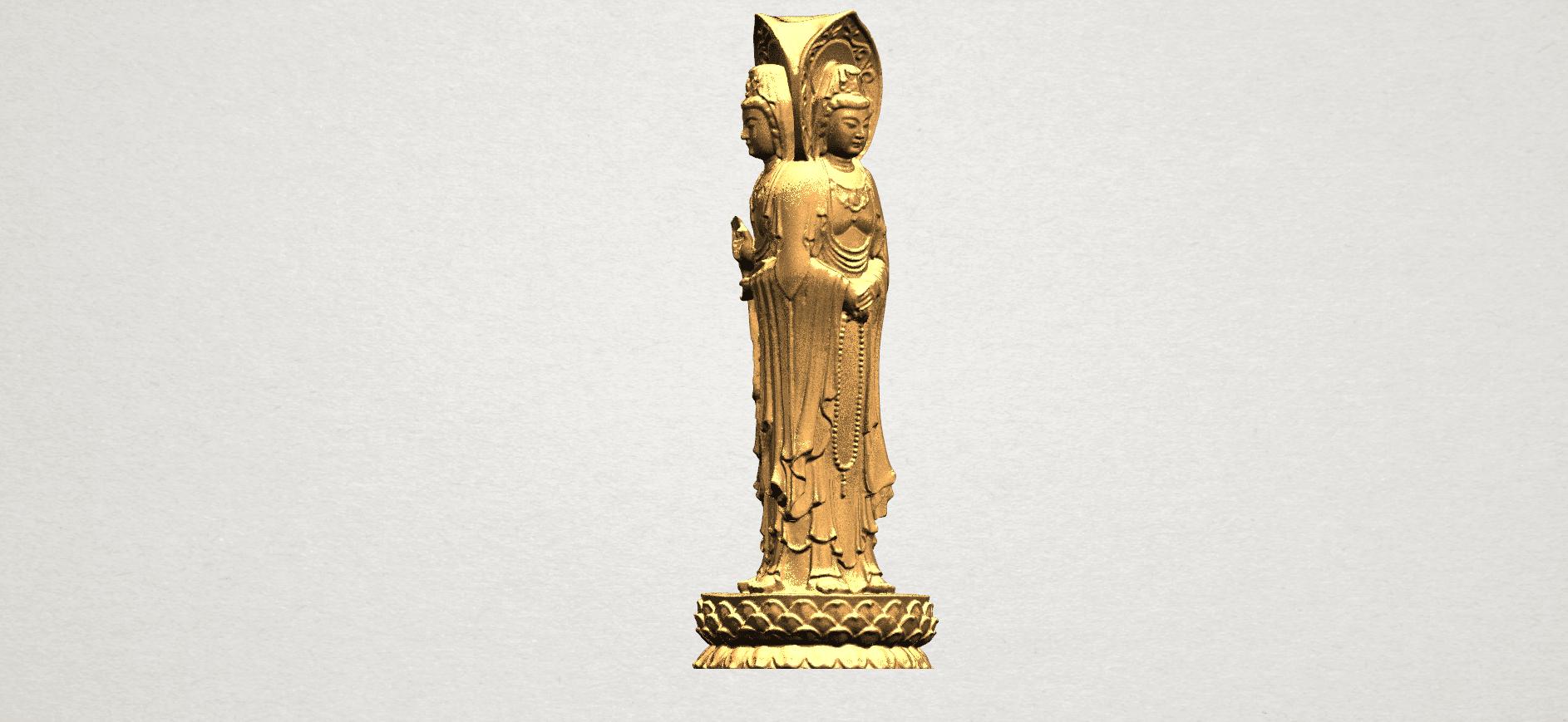 Avalokitesvara Buddha (with Lotus Leave) (i) A06.png Download free STL file Avalokitesvara Buddha (with Lotus Leave) 01 • 3D printable model, GeorgesNikkei