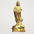 Avalokitesvara Buddha - Standing (iv) A01.png Download free STL file Avalokitesvara Buddha - Standing 04 • 3D print template, GeorgesNikkei