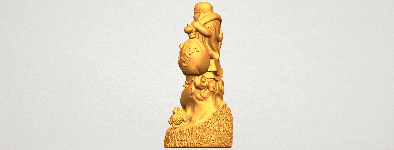 TDA0329 Metteyya Buddha 09 A04.png Télécharger fichier STL gratuit Bouddha Metteyya 09 • Modèle imprimable en 3D, GeorgesNikkei
