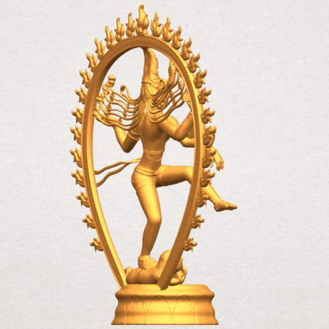 A08.png Download free STL file Shiva King • 3D printing template, GeorgesNikkei
