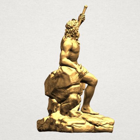 Naked Warrior A06.png Télécharger fichier STL gratuit Guerrier nu • Plan pour impression 3D, GeorgesNikkei