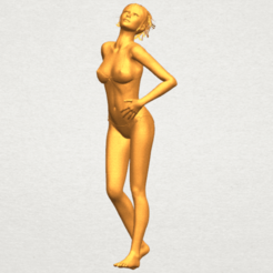Modèle 3D Fille nue C05, Miketon