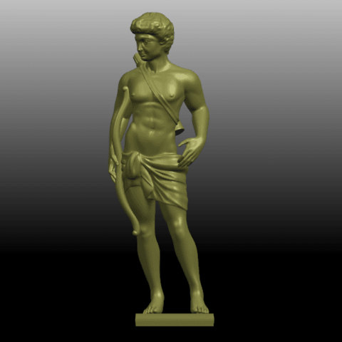 01.png Download free STL file Michelangelo 02 • Template to 3D print, GeorgesNikkei