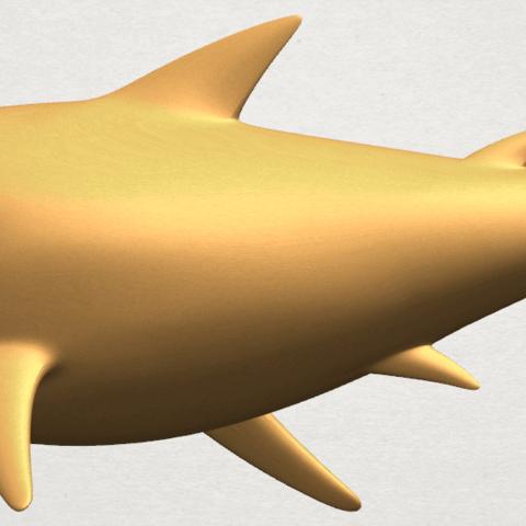 TDA0486 Shark A02.png Download free STL file Shark • 3D print design, GeorgesNikkei