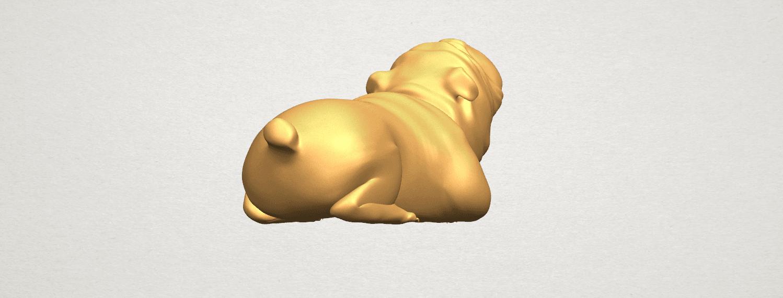 TDA0574 Bull Dog 07 A05.png Télécharger fichier STL gratuit Chien de taureau 07 • Objet imprimable en 3D, GeorgesNikkei