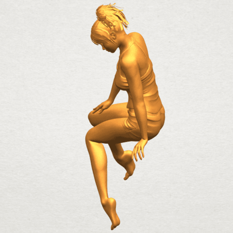 A03.png Download free STL file Naked Girl E04 • Template to 3D print, GeorgesNikkei