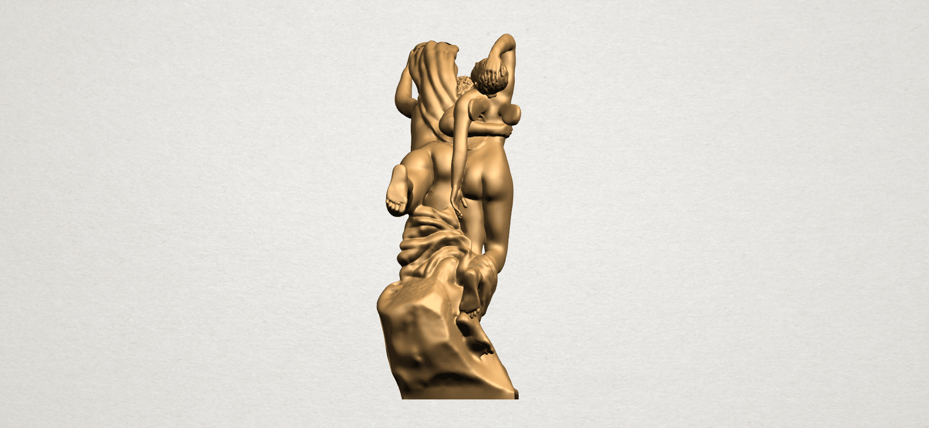 Cupid and Psyche - A04.png Download free STL file Cupid and Psyche • 3D printing template, GeorgesNikkei