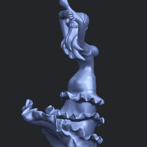 23_Girl_with_Dress_80mm-A10.png Download free STL file Girl with Dress • Object to 3D print, GeorgesNikkei