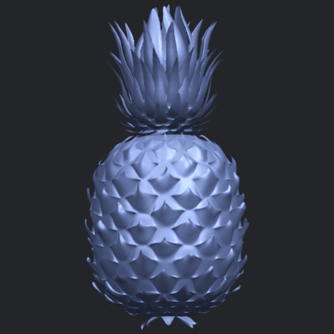 15_TDA0552_PineappleB04.png Download free STL file Pineapple • 3D printer design, GeorgesNikkei