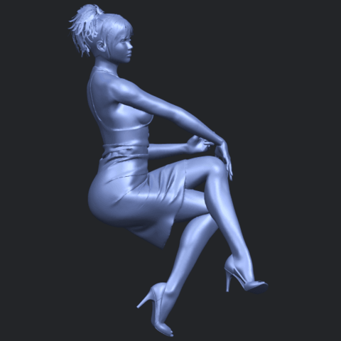 16_TDA0666_Naked_Girl_H04B02.png Download free STL file Naked Girl H04 • 3D printing object, GeorgesNikkei