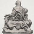 TDA0238 La Pieta A05.png Télécharger fichier STL gratuit La Pieta • Modèle pour impression 3D, GeorgesNikkei