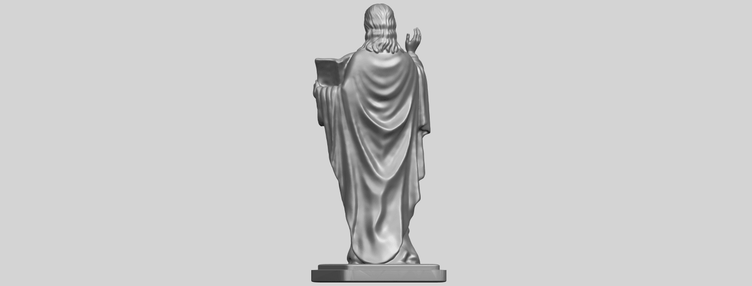 19_TDA0237_Jesus_vA06.png Download free STL file Jesus 05 • 3D print object, GeorgesNikkei