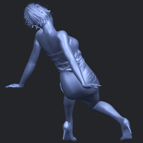 15_TDA0662_Naked_Girl_G10B07.png Download free STL file Naked Girl G10 • 3D printable template, GeorgesNikkei