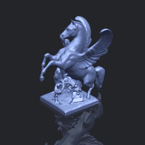 10_Horse_(v)_88.3mmB00-1.png Télécharger fichier STL gratuit Cheval 05 • Plan pour impression 3D, GeorgesNikkei