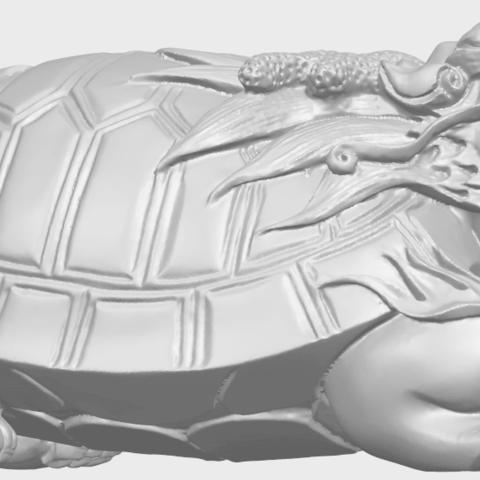 01_TDA0333_Dragon_TortoiseA07.png Télécharger fichier STL gratuit Tortue dragon • Objet imprimable en 3D, GeorgesNikkei