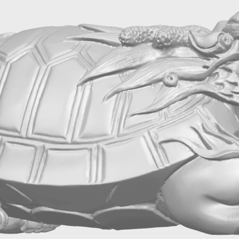 01_TDA0333_Dragon_TortoiseA07.png Download free STL file Dragon  Tortoise • Model to 3D print, GeorgesNikkei