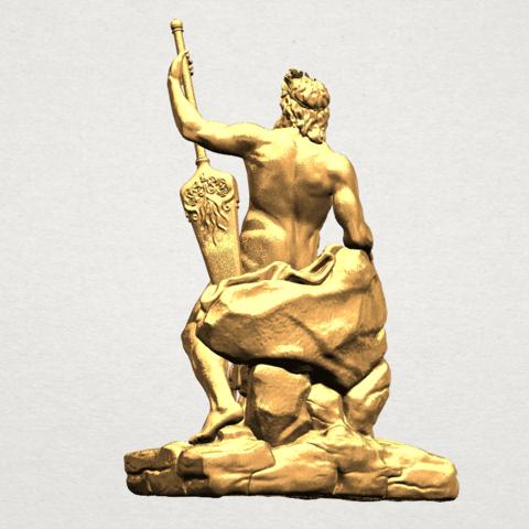 Naked Warrior A04.png Télécharger fichier STL gratuit Guerrier nu • Plan pour impression 3D, GeorgesNikkei