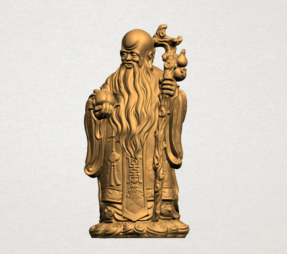 Sao (Fook Look Sao) 80mm - A01.png Download free STL file Sao (Fook Look Sao) • 3D printable model, GeorgesNikkei