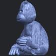 09_TDA0606_ChimpanzeeB03.png Télécharger fichier STL gratuit Chimpanzé • Design imprimable en 3D, GeorgesNikkei