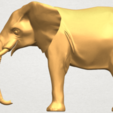Download free STL file Elephant 07 • 3D printing template, GeorgesNikkei