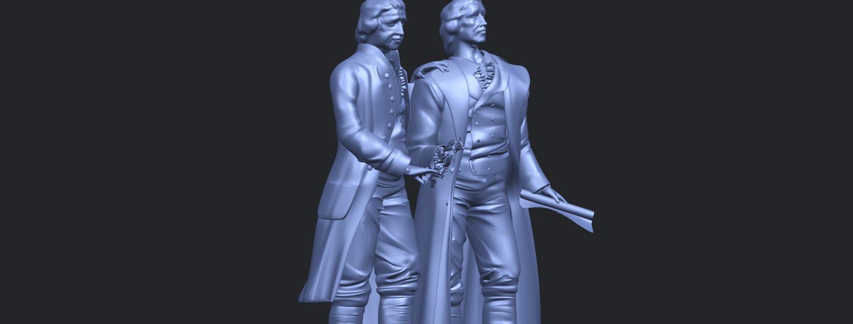 15_Goethe_schiller_80mmA10.png Télécharger fichier STL gratuit Goethe Schiller • Modèle imprimable en 3D, GeorgesNikkei