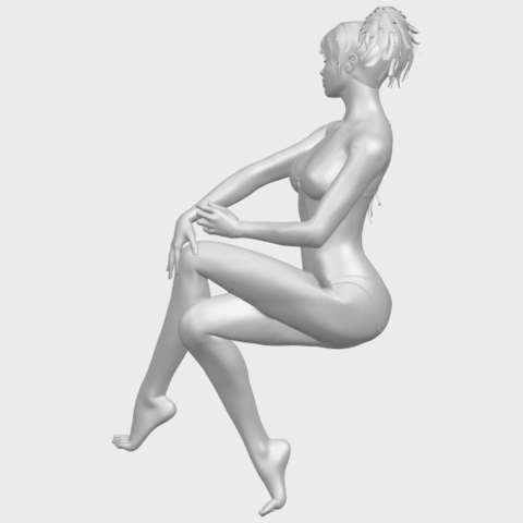 20_TDA0664_Naked_Girl_H02A07.png Download free STL file Naked Girl H02 • 3D print object, GeorgesNikkei