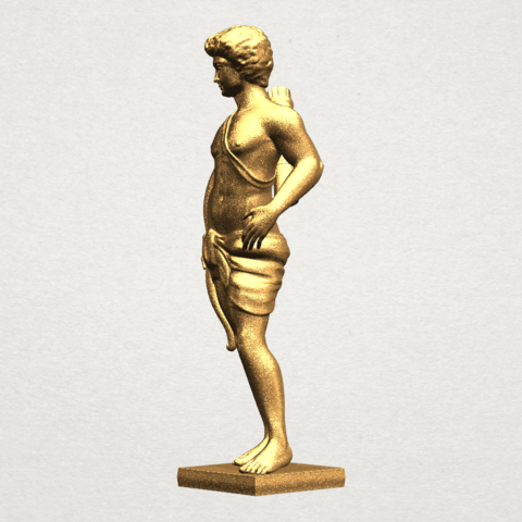 Michelangelo (ii) - A02.png Download free STL file Michelangelo 02 • Template to 3D print, GeorgesNikkei