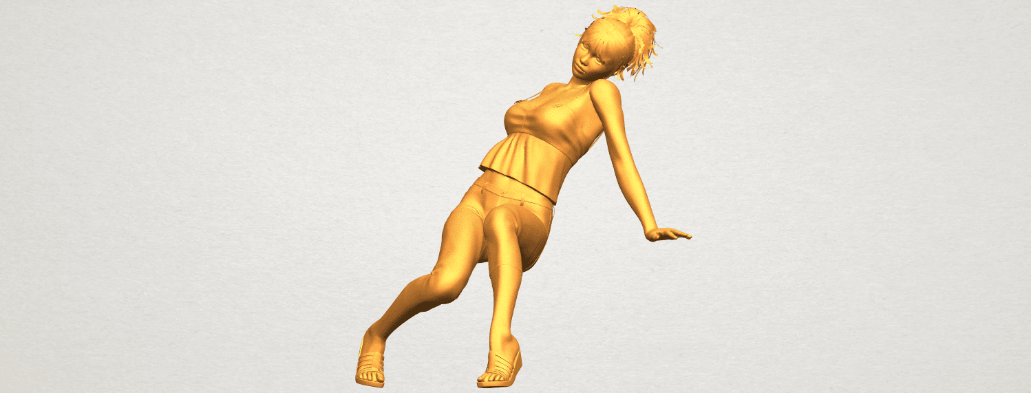 A02.png Download free STL file Naked Girl G06 • 3D printable object, GeorgesNikkei