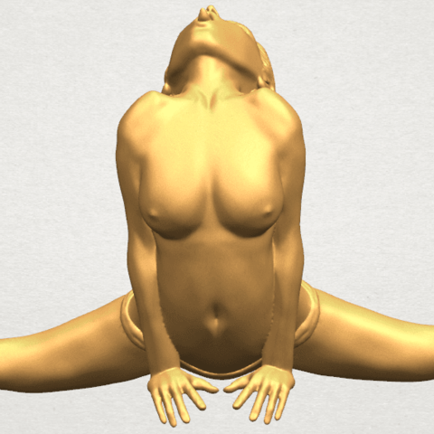 TDA0562 Naked Girl 20 open leg a03.png Download free STL file Naked Girl 20 open leg • 3D printable template, GeorgesNikkei