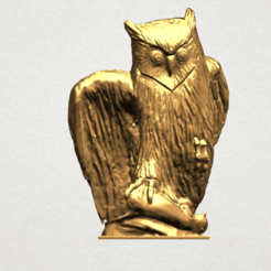 Download free 3D printer model Owl 02, GeorgesNikkei
