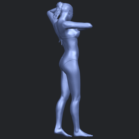 16_TDA0633_Naked_Girl_D03-B09.png Download free STL file Naked Girl D03 • 3D printing template, GeorgesNikkei