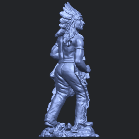 13_TDA0240_Red_IndianB08.png Download free STL file Red Indian • 3D print template, GeorgesNikkei