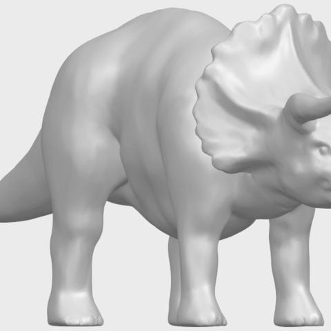17_TDA0759_Triceratops_01A08.png Télécharger fichier STL gratuit Triceratops 01 • Modèle pour imprimante 3D, GeorgesNikkei