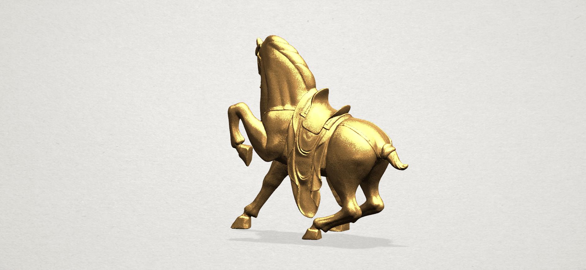 Horse III - B05.png Télécharger fichier STL gratuit Cheval 03 • Design imprimable en 3D, GeorgesNikkei