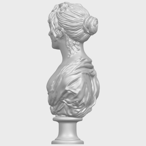 24_TDA0201_Bust_of_a_girl_01A04.png Download free STL file Bust of a girl 01 • Object to 3D print, GeorgesNikkei