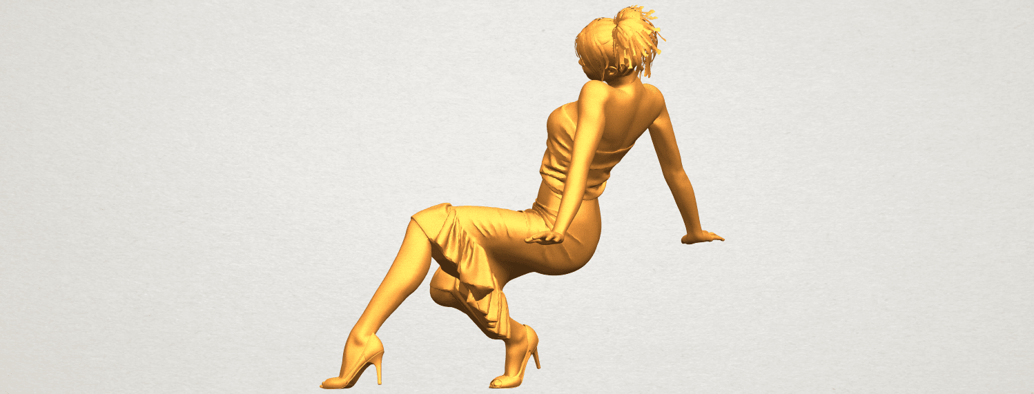 A04.png Download free STL file Naked Girl G05 • 3D printing object, GeorgesNikkei