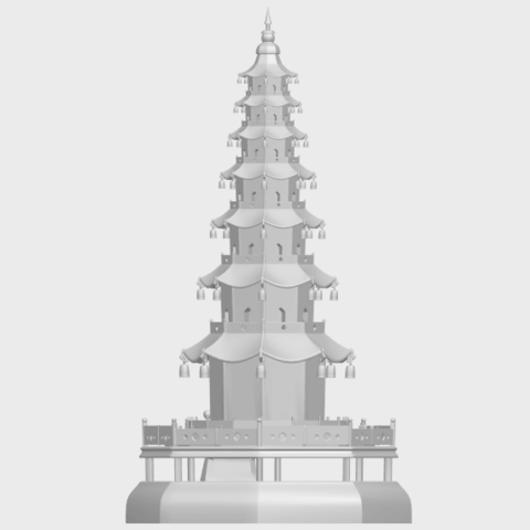 03_TDA0623_Chiness_pagodaA06.png Download free STL file Chiness pagoda • Design to 3D print, GeorgesNikkei