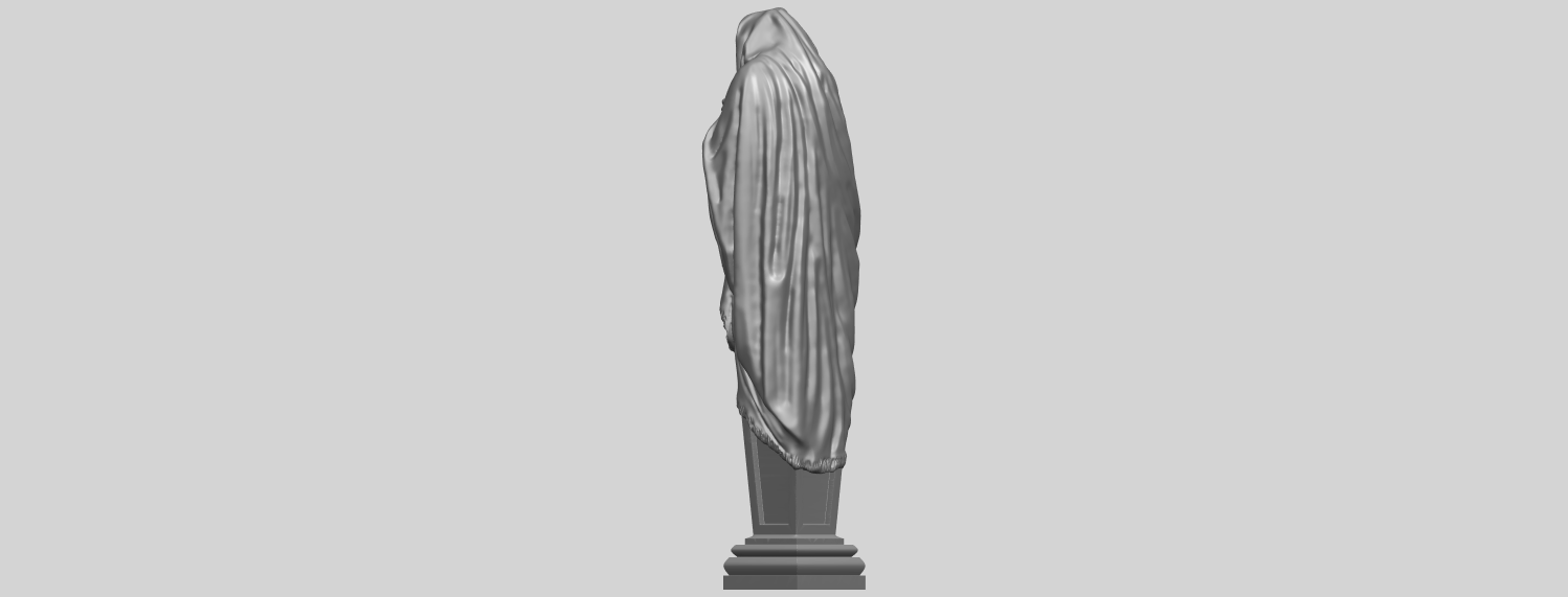 11_TDA0259_Sculpture_WinterA05.png Download free STL file Sculpture - Winter 01 • 3D printable object, GeorgesNikkei