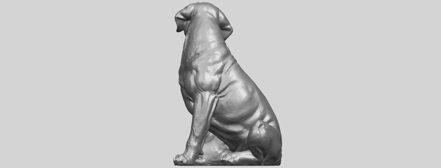 02_TDA0526_Dog_and_PuppyA08.png Download free STL file Dog and Puppy 01 • Model to 3D print, GeorgesNikkei