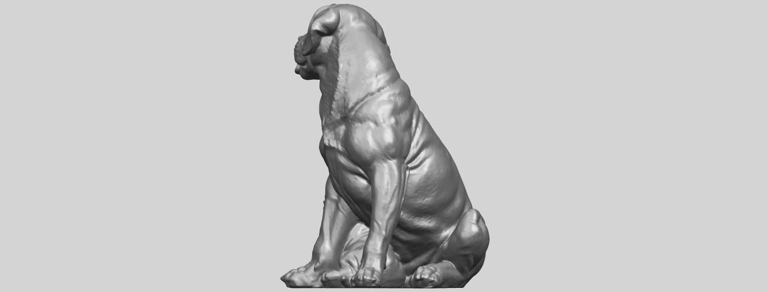 02_TDA0526_Dog_and_PuppyA07.png Download free STL file Dog and Puppy 01 • Model to 3D print, GeorgesNikkei