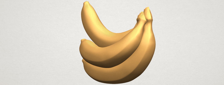 TDA0553 Banana A05.png Download free STL file Banana 01 • 3D printer design, GeorgesNikkei