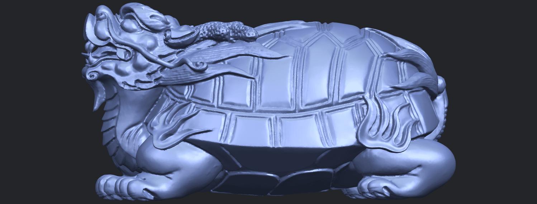01_TDA0333_Dragon_TortoiseB01.png Download free STL file Dragon  Tortoise • Model to 3D print, GeorgesNikkei